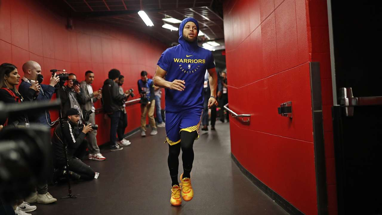 NBA Finals 2019 Game2 Stephen Curry