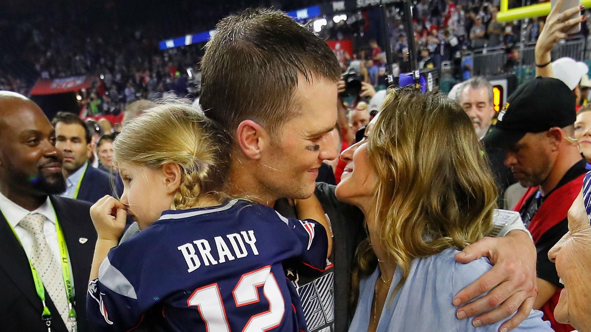 """Gisele espera que la decisión de agencia libre de Tom Brady lleve a la familia a """"un lugar agradable"""" 14"""