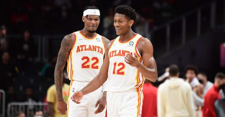 De'Andre Hunter & Cam Reddish Atlanta Hawks