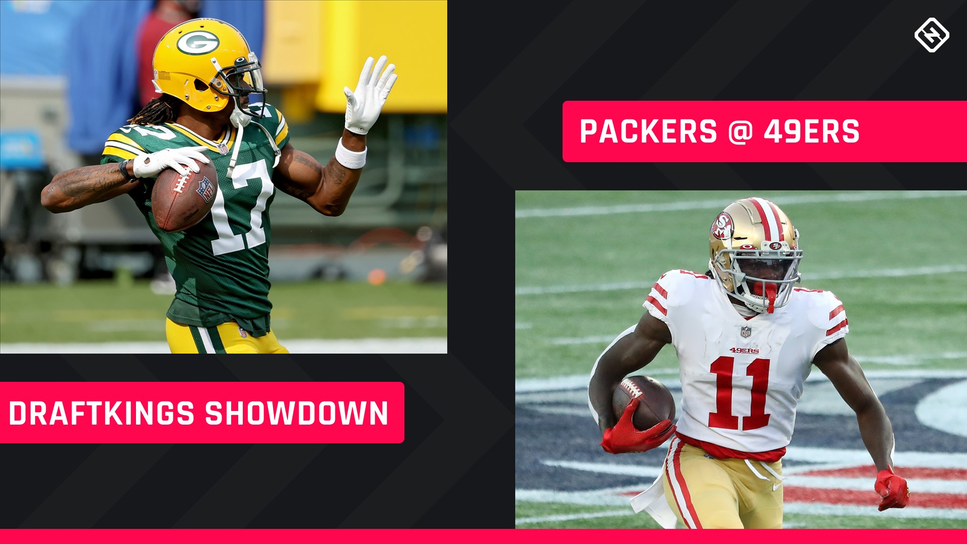 Thursday Night Football DraftKings Picks: NFL DFS lineup advice for Week 9 Packers-49ers Showdown tournaments 1