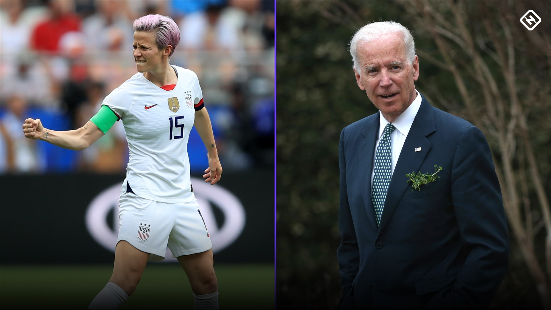 Joe Biden's message to U.S. Soccer: No men's World Cup funding in '26 without equal pay for USWNT 1