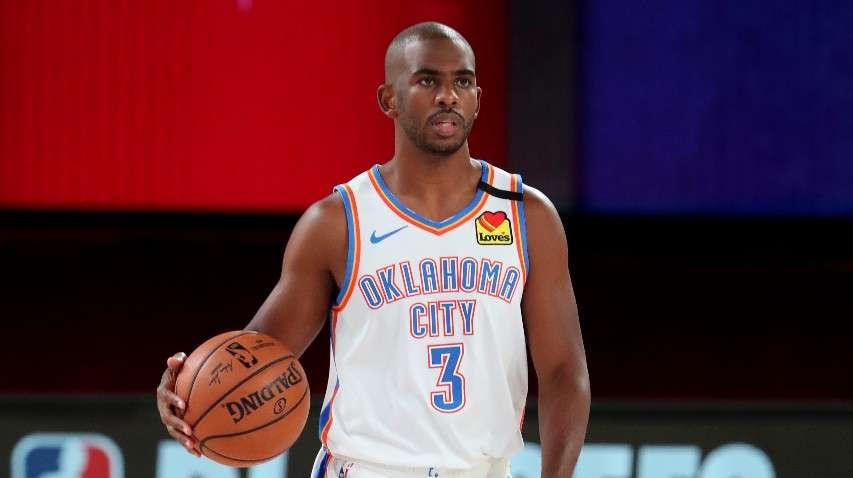 Chris Paul Oklahoma City Thunder