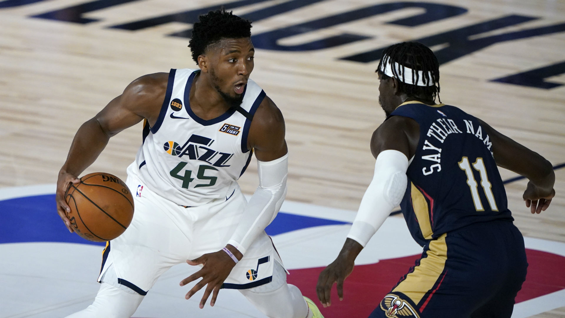 Pelicans Vs Jazz Score Highlights Utah Snatches Victory From New Orleans In Nba Restart Opener Sporting News