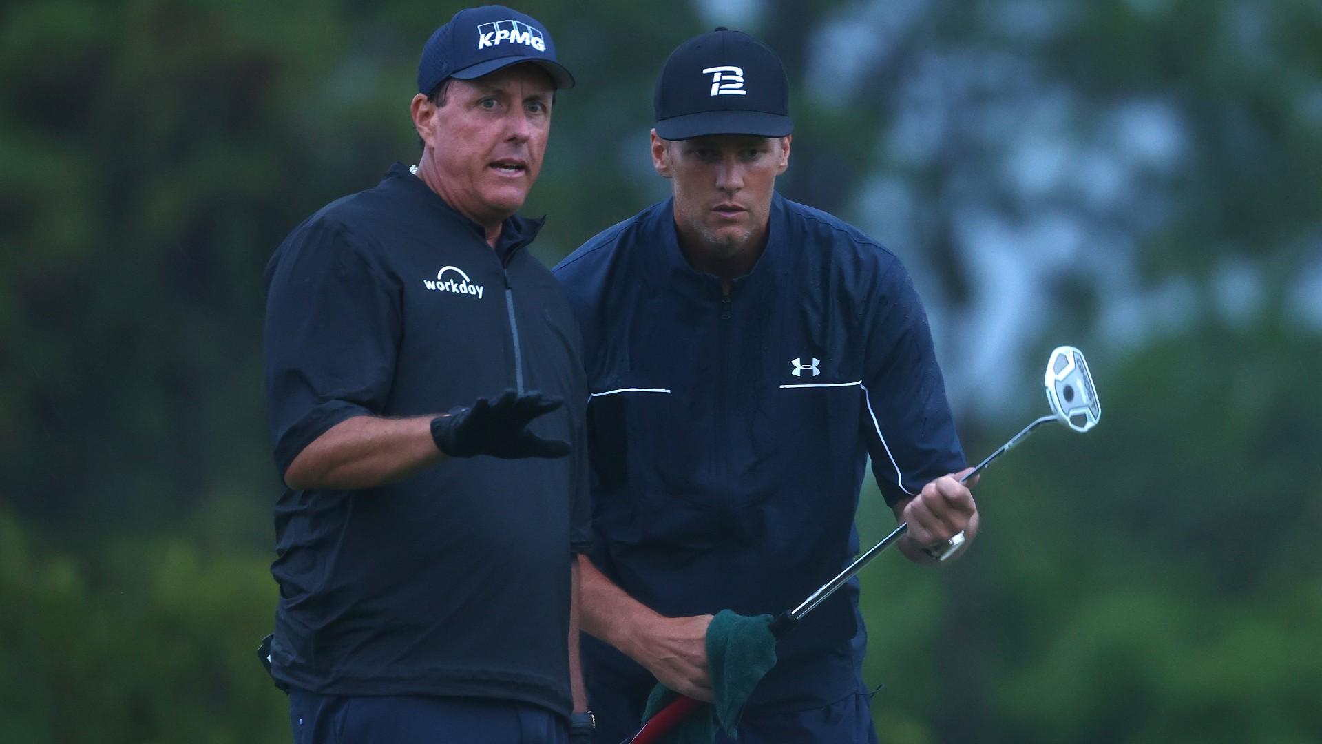 2021 Match Golf Odds, Prediction for Phil Mickelson-Tom Brady vs. Bryson DeChambeau-Aaron Rodgers
