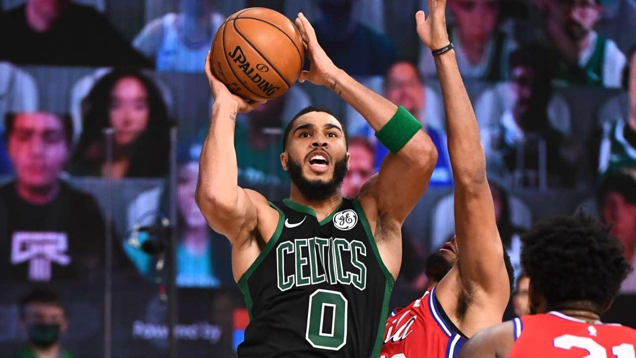 Jayson Tatum Celtics 76ers