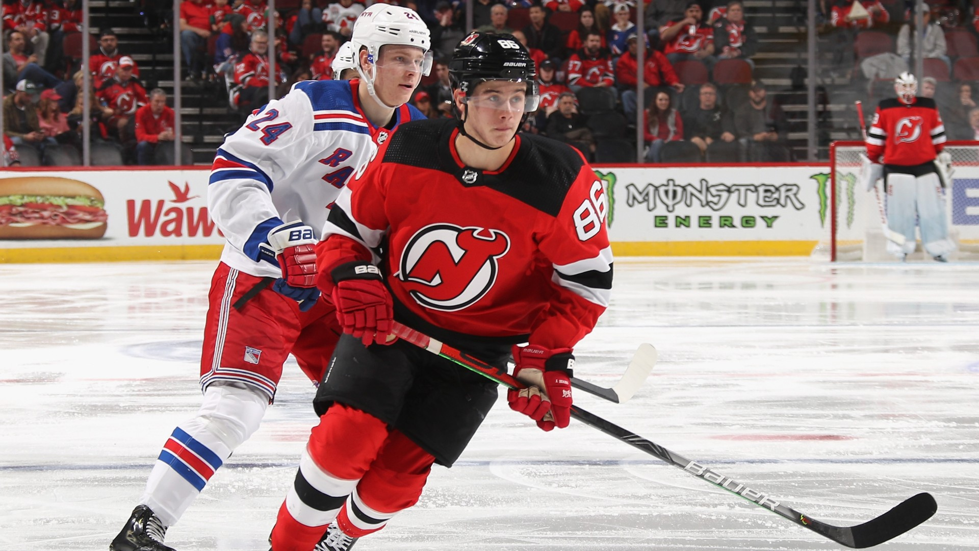 New Jersey Devils Jack Hughes Records First Nhl Point Sporting