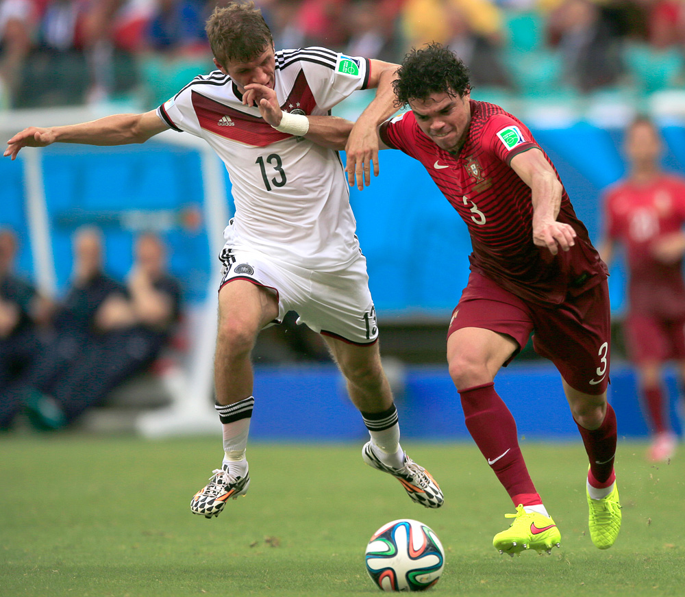 World Cup 2014: Germany vs. Portugal