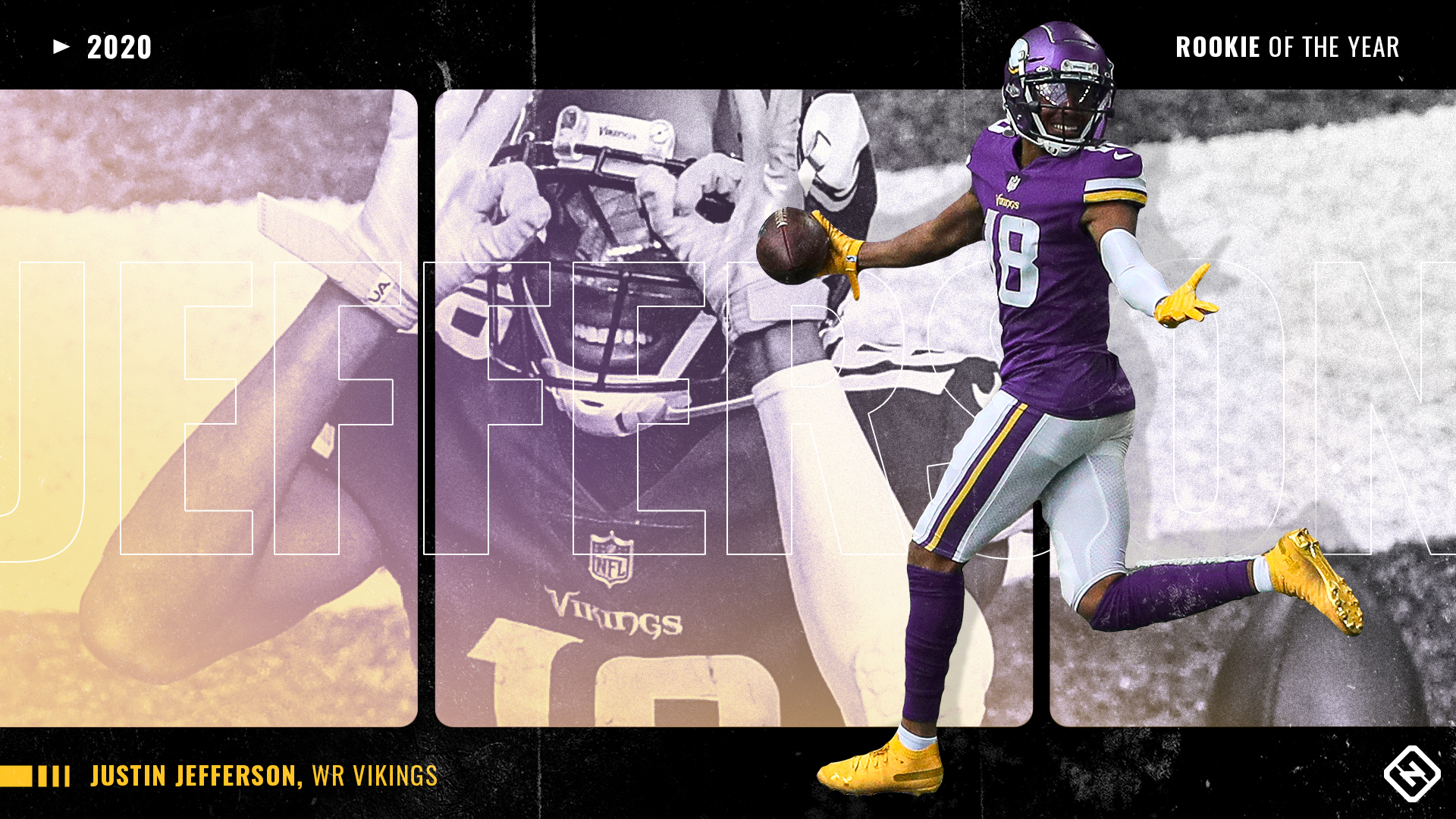 Justin Jefferson vs. Randy Moss: Comparing the Vikings' Sporting News NFL Rookie of the Year winners