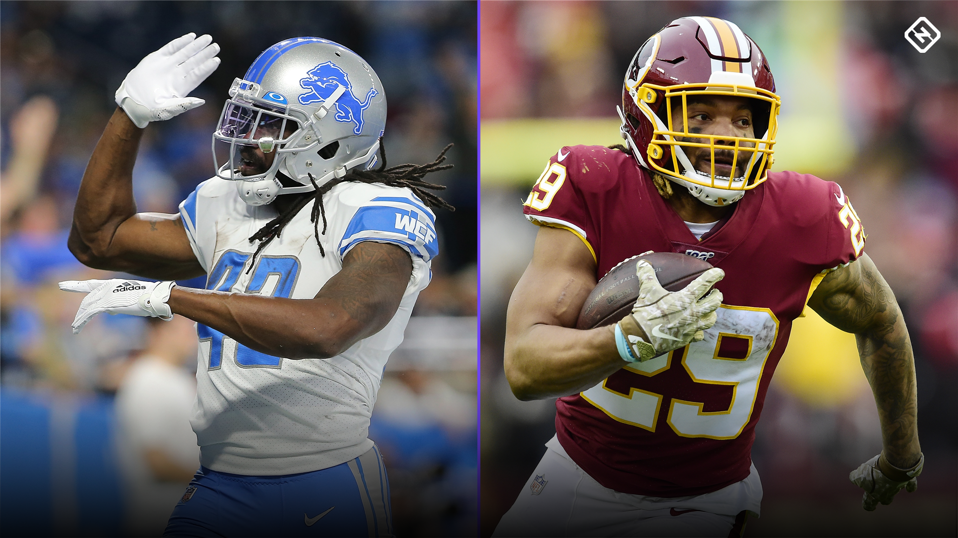 Week 12 Fantasy Sleepers: Bo Scarbrough, Derrius Guice go from waiver pickups to solid 'starts'