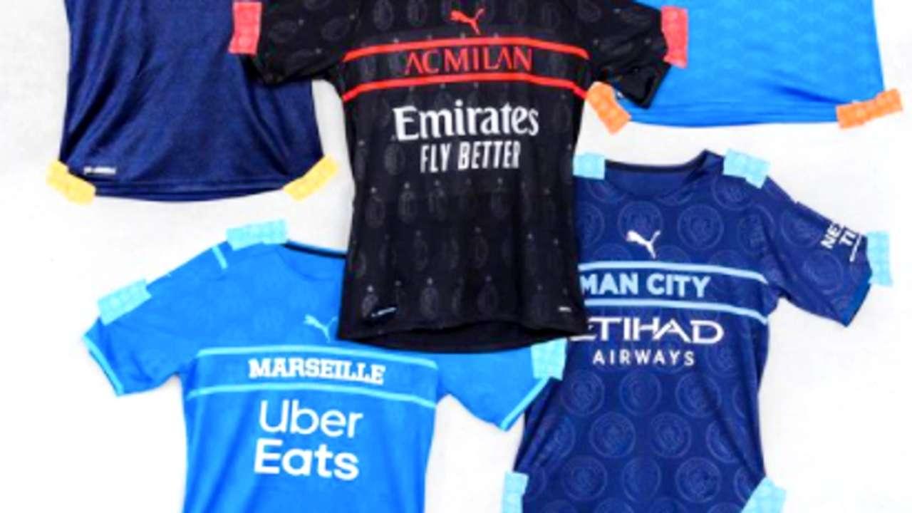 Puma jerseys - third kits - soccer - 2021