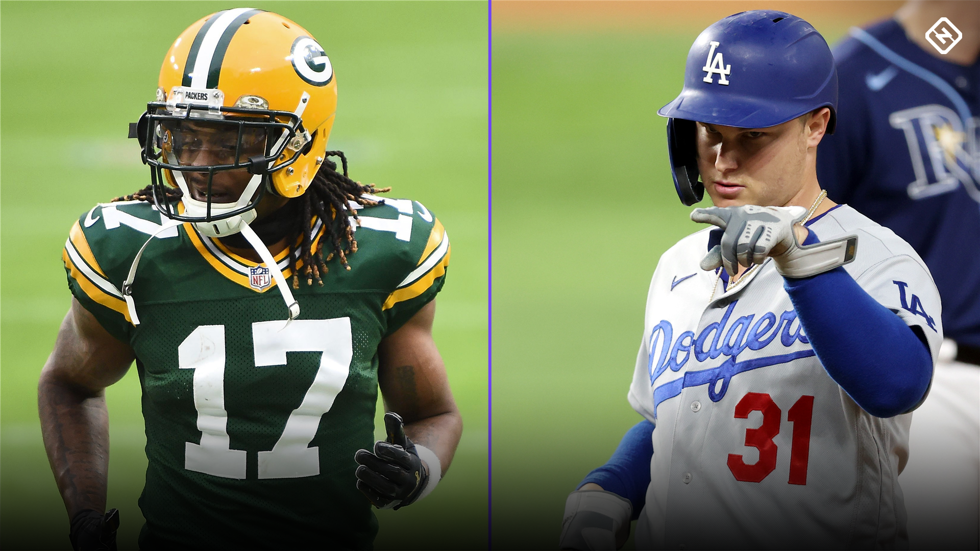 Packers' Davante Adams, Dodgers' Joc Pederson formed dynamic receiver duo in high school
