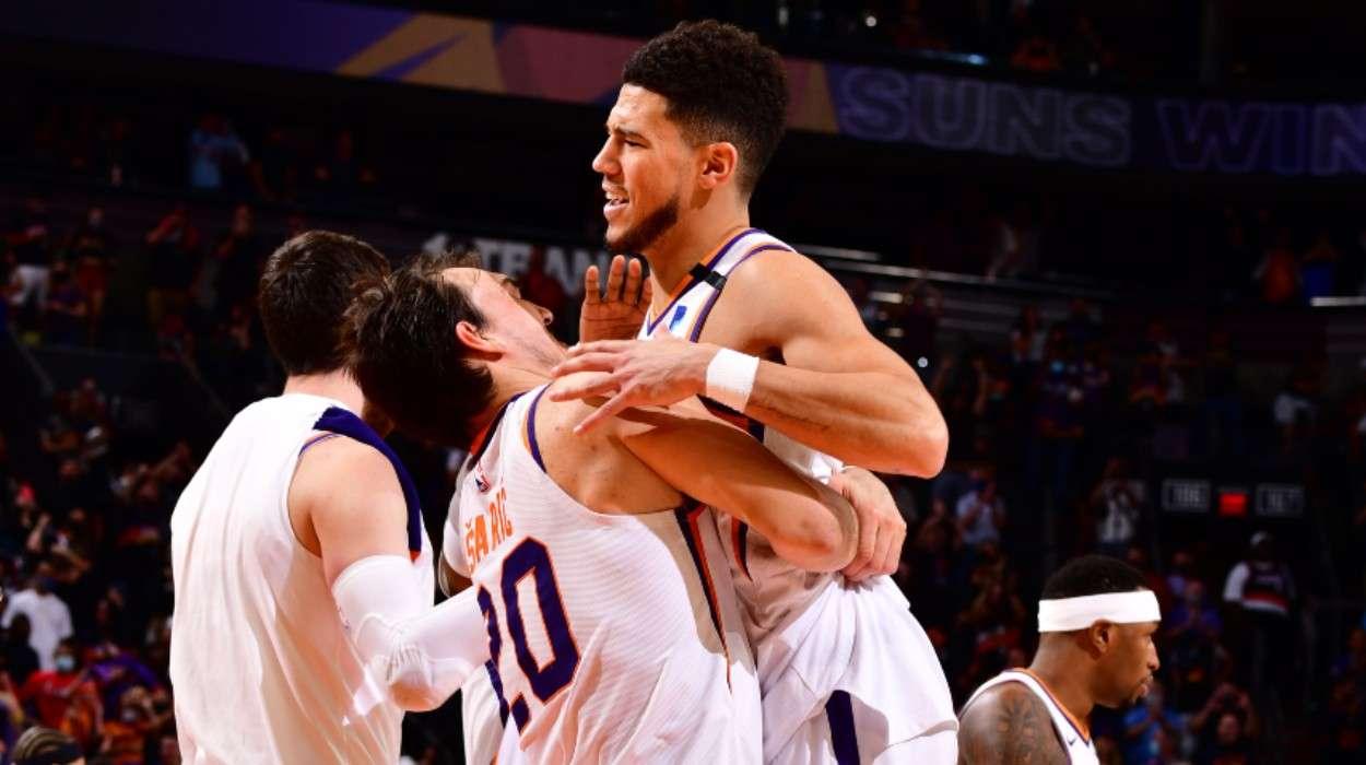Dario Saric Phoenix Suns Devin Booker