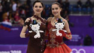 Evgenia Medvedeva and Alina Zagitova, Olympic Athlete from Russia