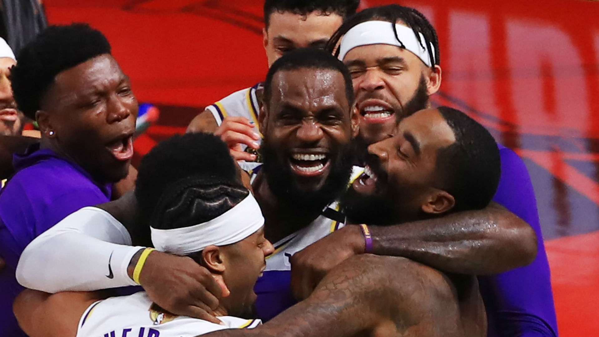 LeBron James, Lakers didn't come all this way just to hear their NBA title is tainted