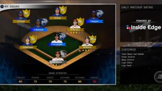 MLB The Show 16 Diamond Dynasty Lineup