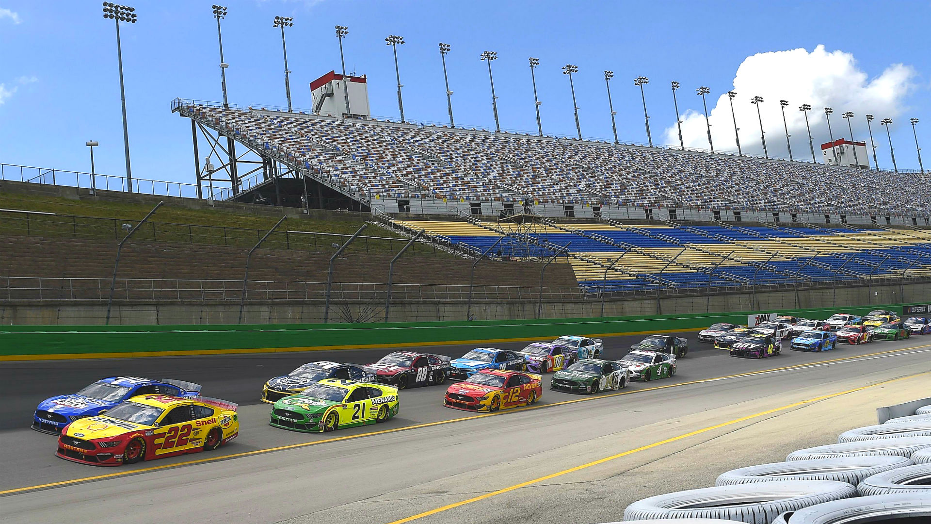 Who won the NASCAR race today? Complete results from Quaker State 400 at Kentucky 1