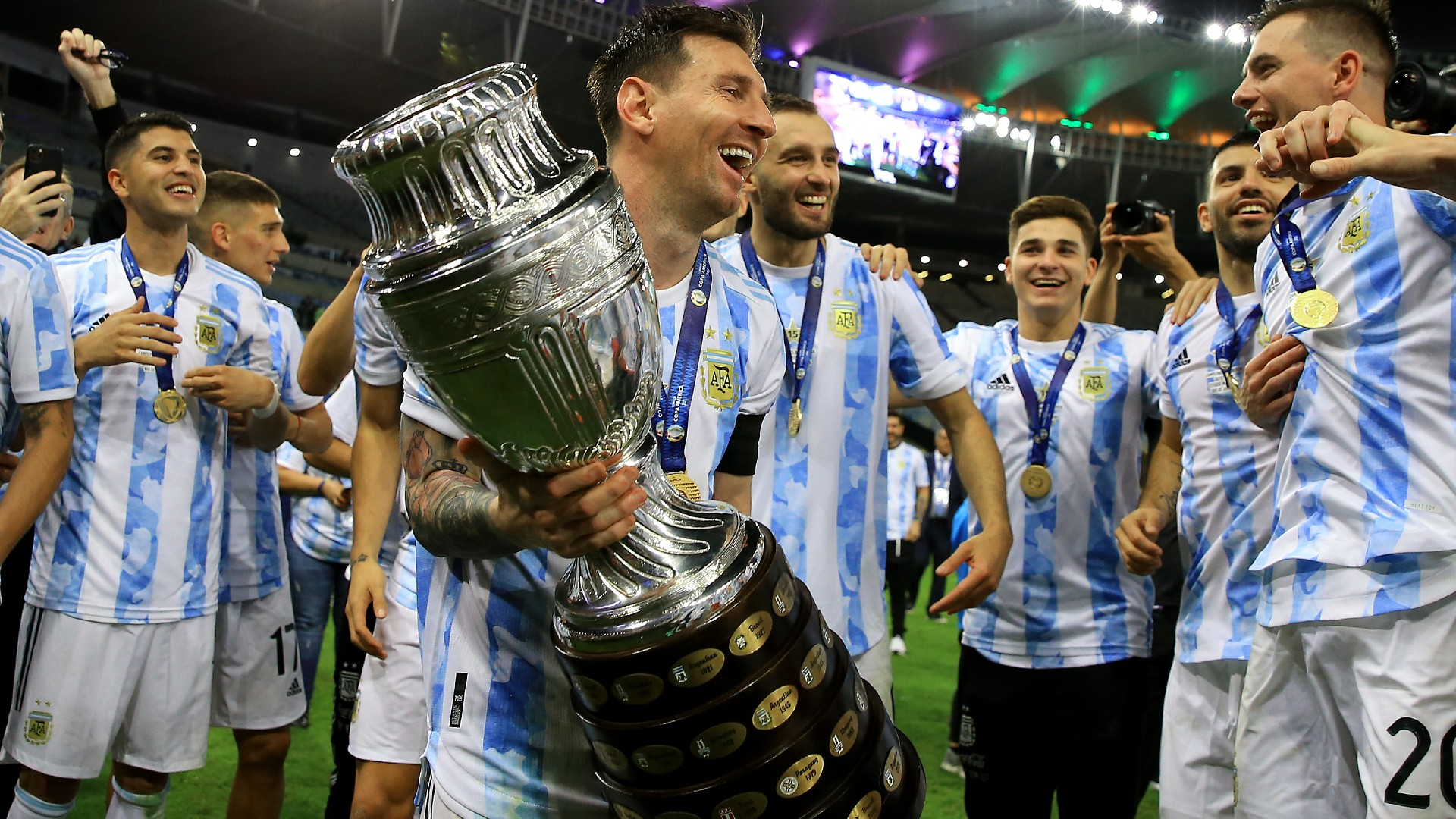 Brazil vs. Argentina result: Lionel Messi wins first title with Argentina, ending nation's 28-year drought