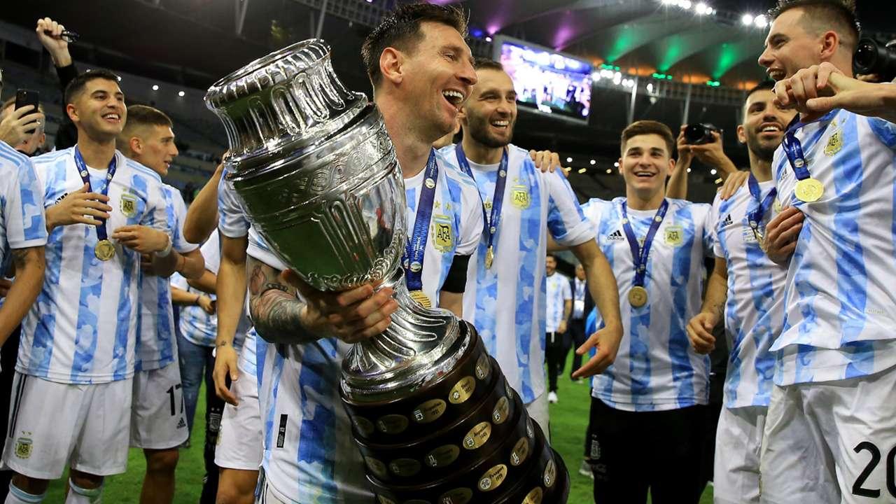Lionel Messi - Argentina - 2021 Copa America
