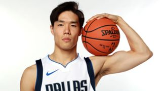 Yudai Baba Dallas Mavericks Media day 2019