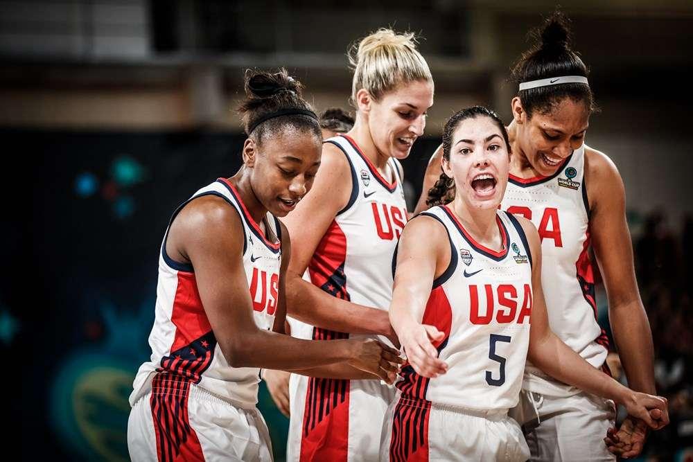 Team USA Women FIBA Women's Basketball World Cup