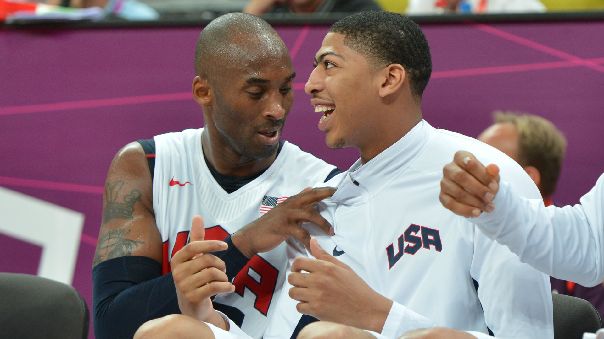Lakers' Anthony Davis shares his