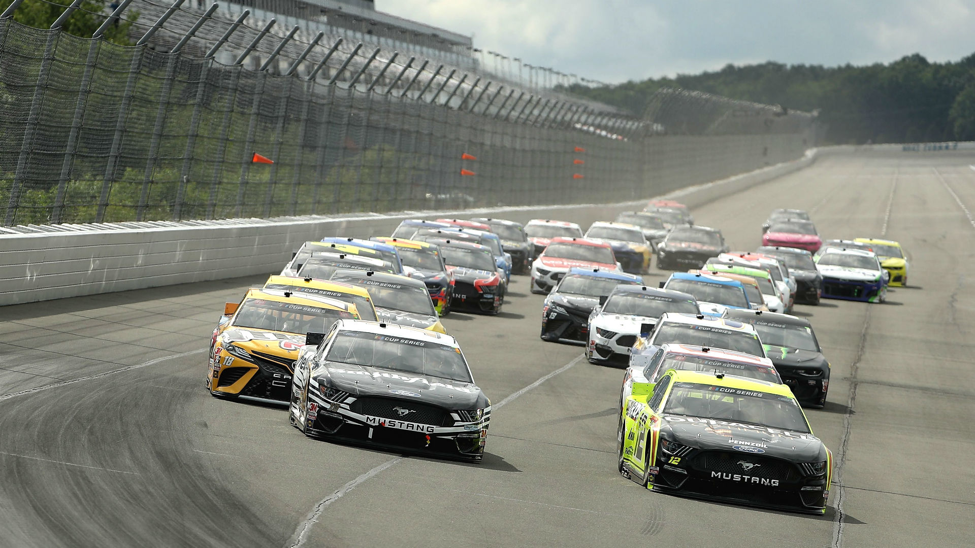 NASCAR at Pocono: Race results, highlights from Saturday's first leg of doubleheader