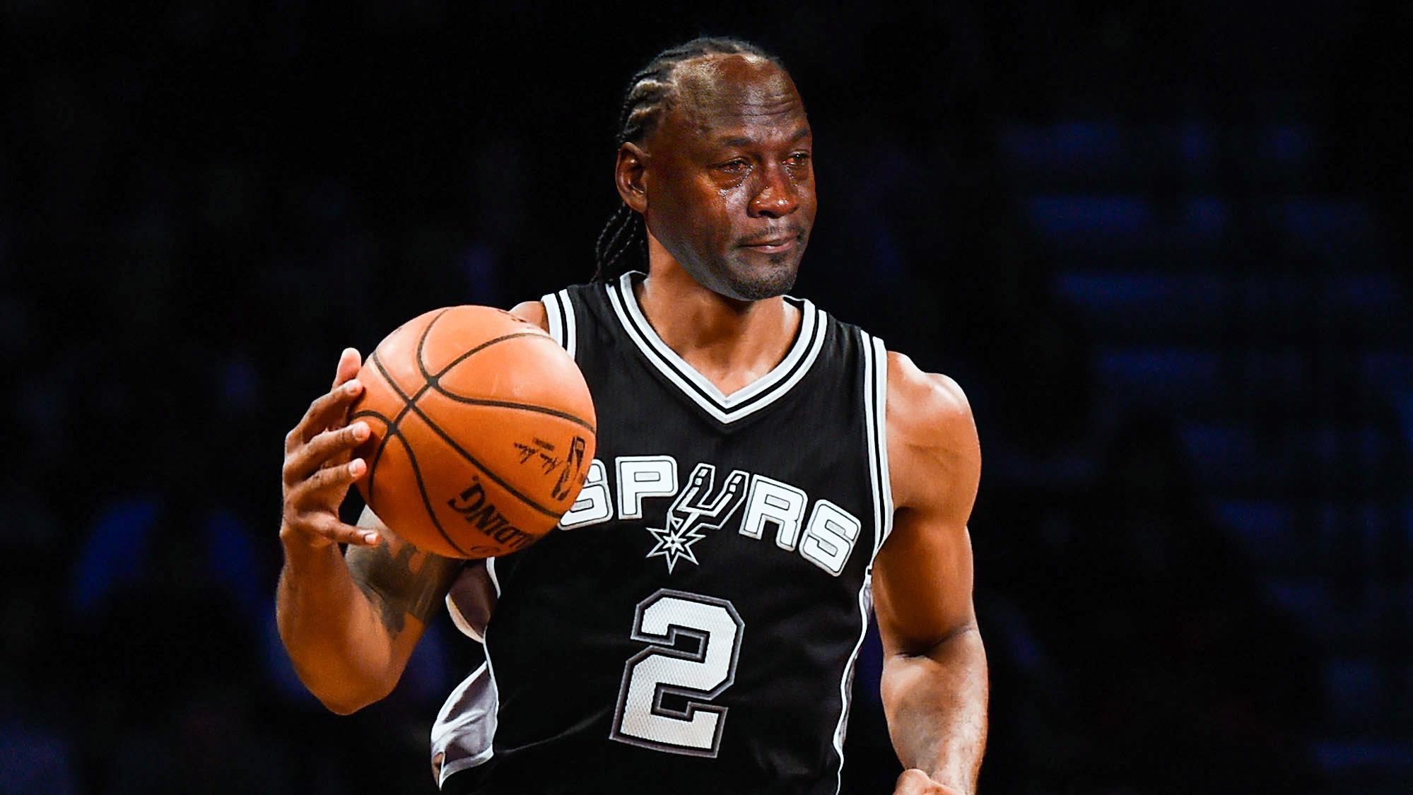 Crying Jordan meme