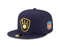 Brewers FTR spring training hats MLB .jpg