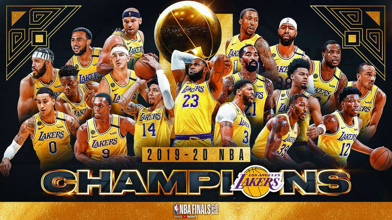NBA Finals 2020 Chamions Lakers