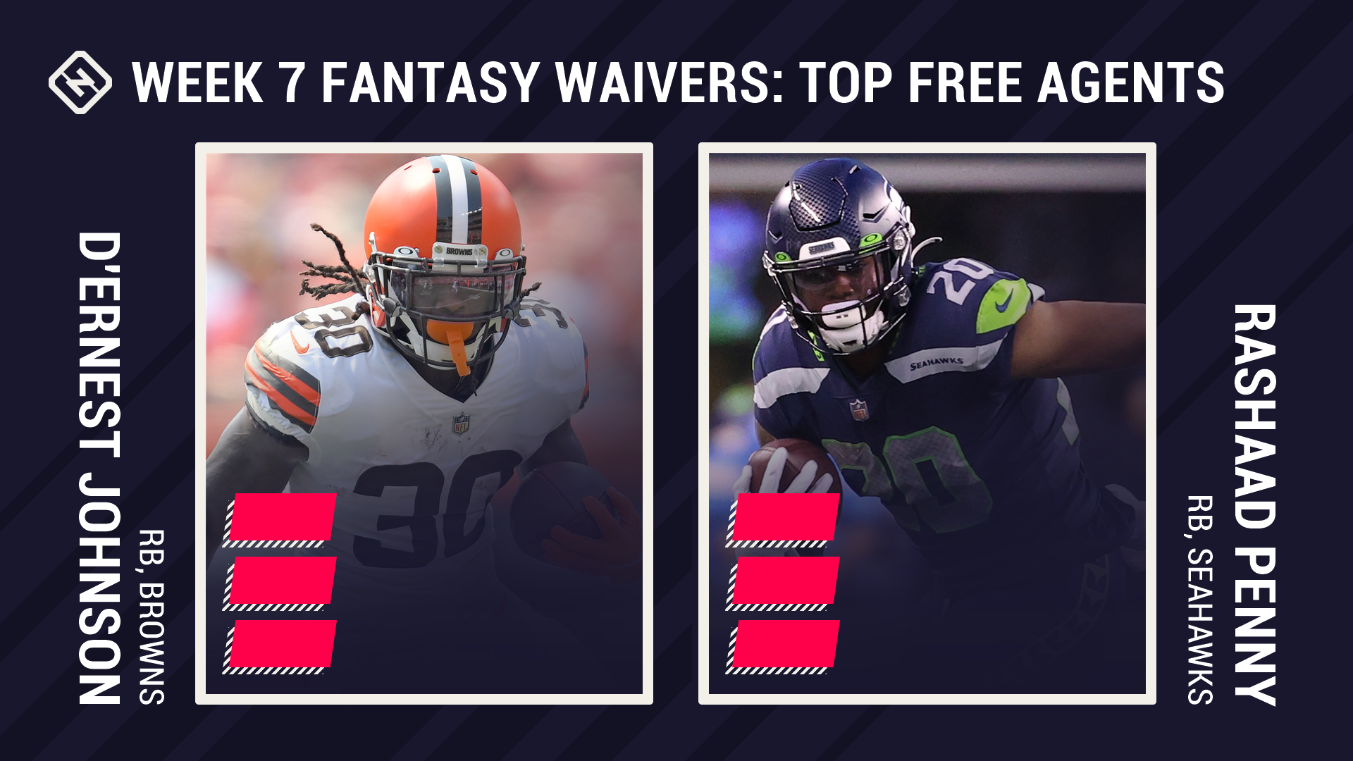 Fantasy Waiver Wire Week 7: D'Ernest Johnson, Rashaad Penny among top free agent pickups