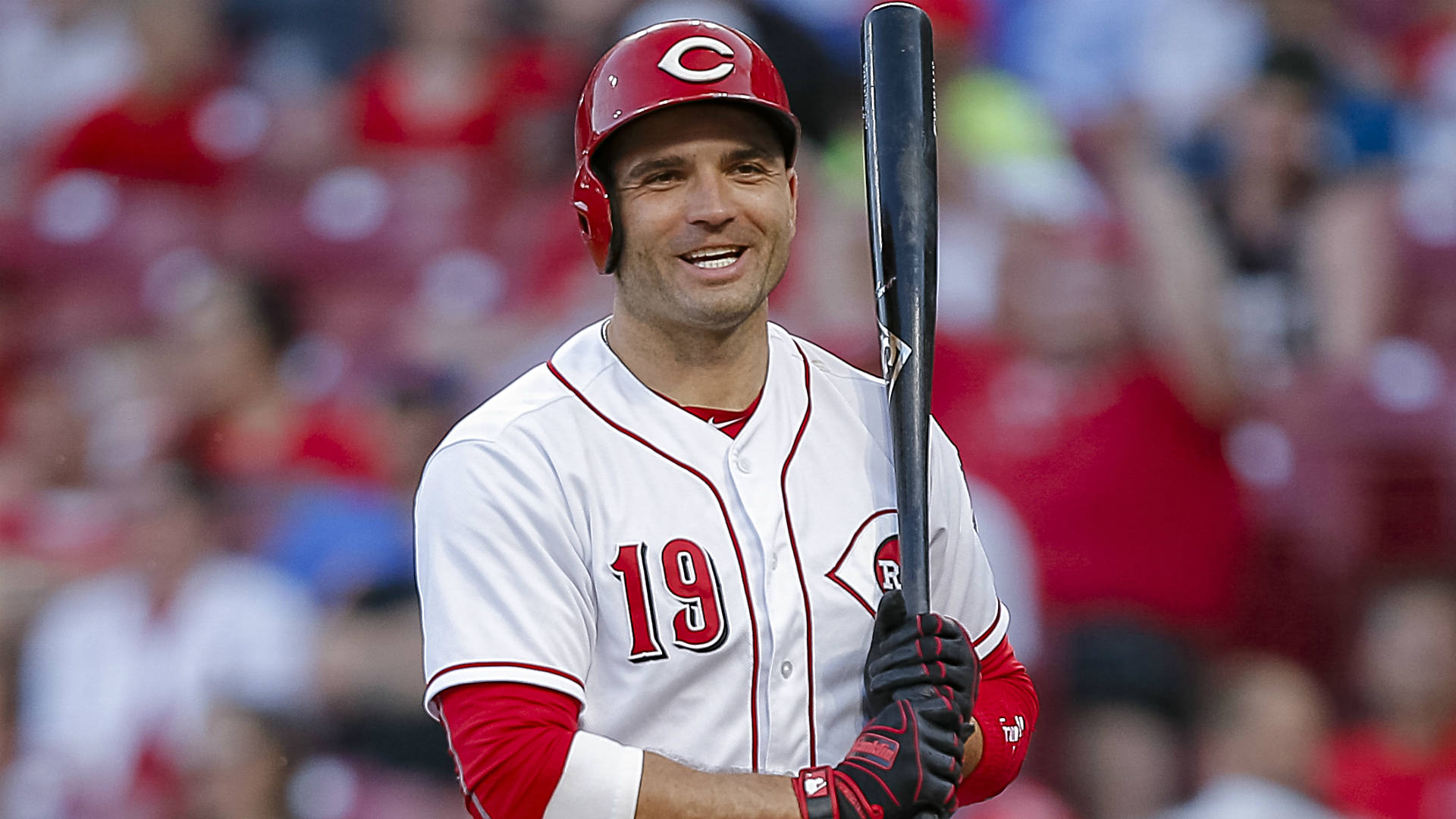 Reds' Joey Votto brightens fan day with signed baseball after first inning ejection