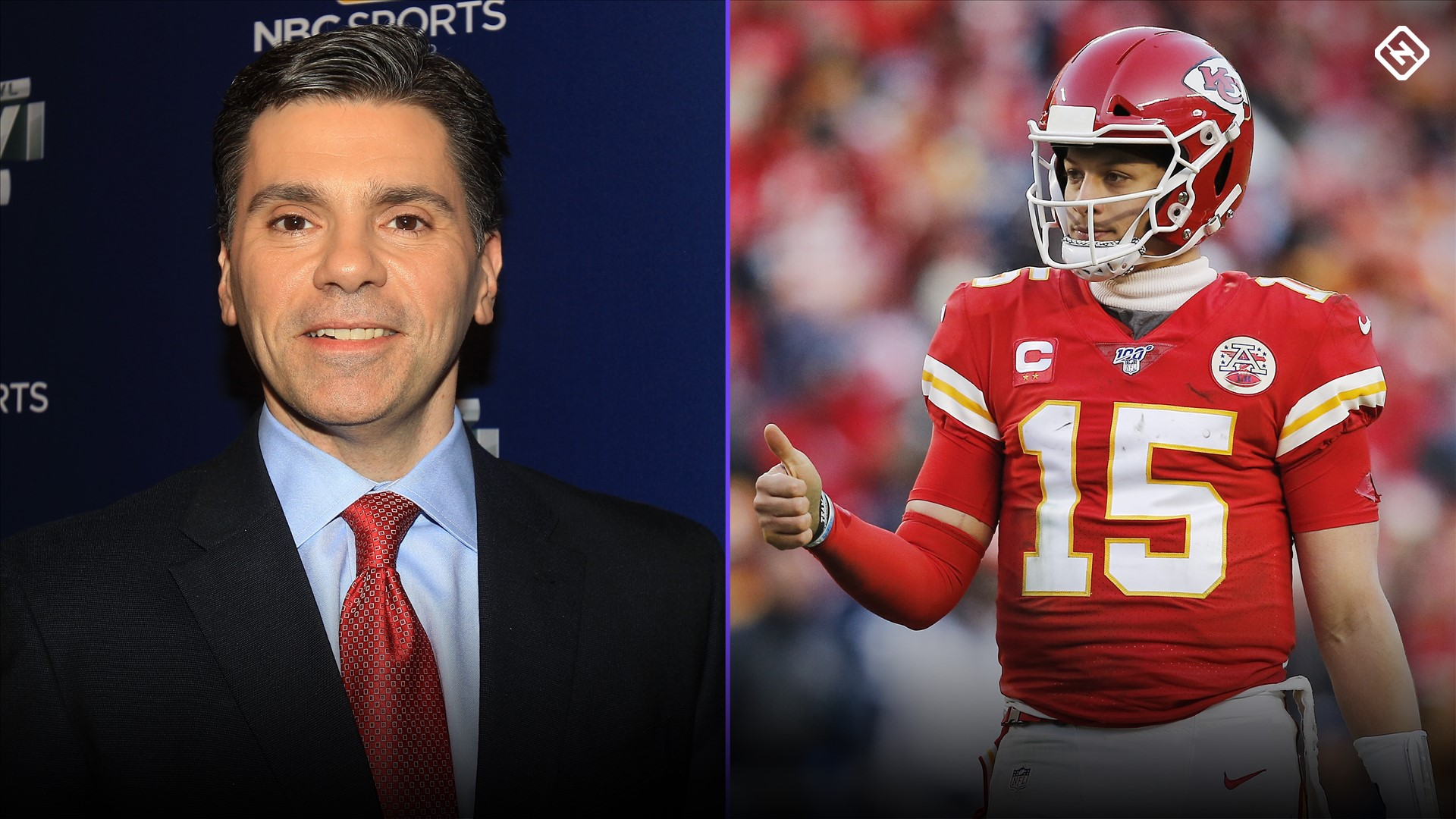 Mike Florio's take on risking penalties to 'send a message' to Patrick Mahomes is dumb at best