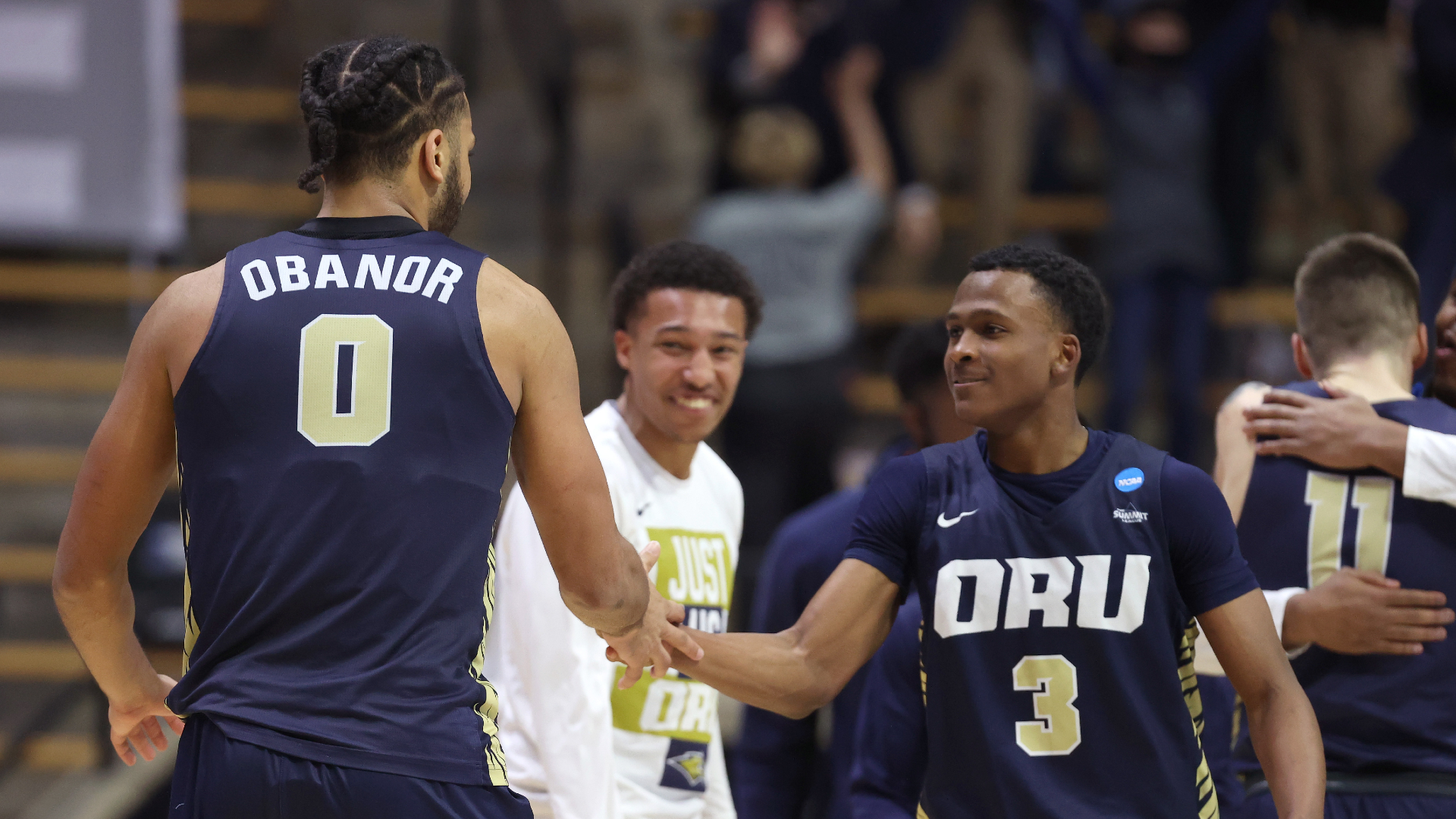 Who is Max Abmas? What to know about key player in Oral Roberts' upset of Ohio State