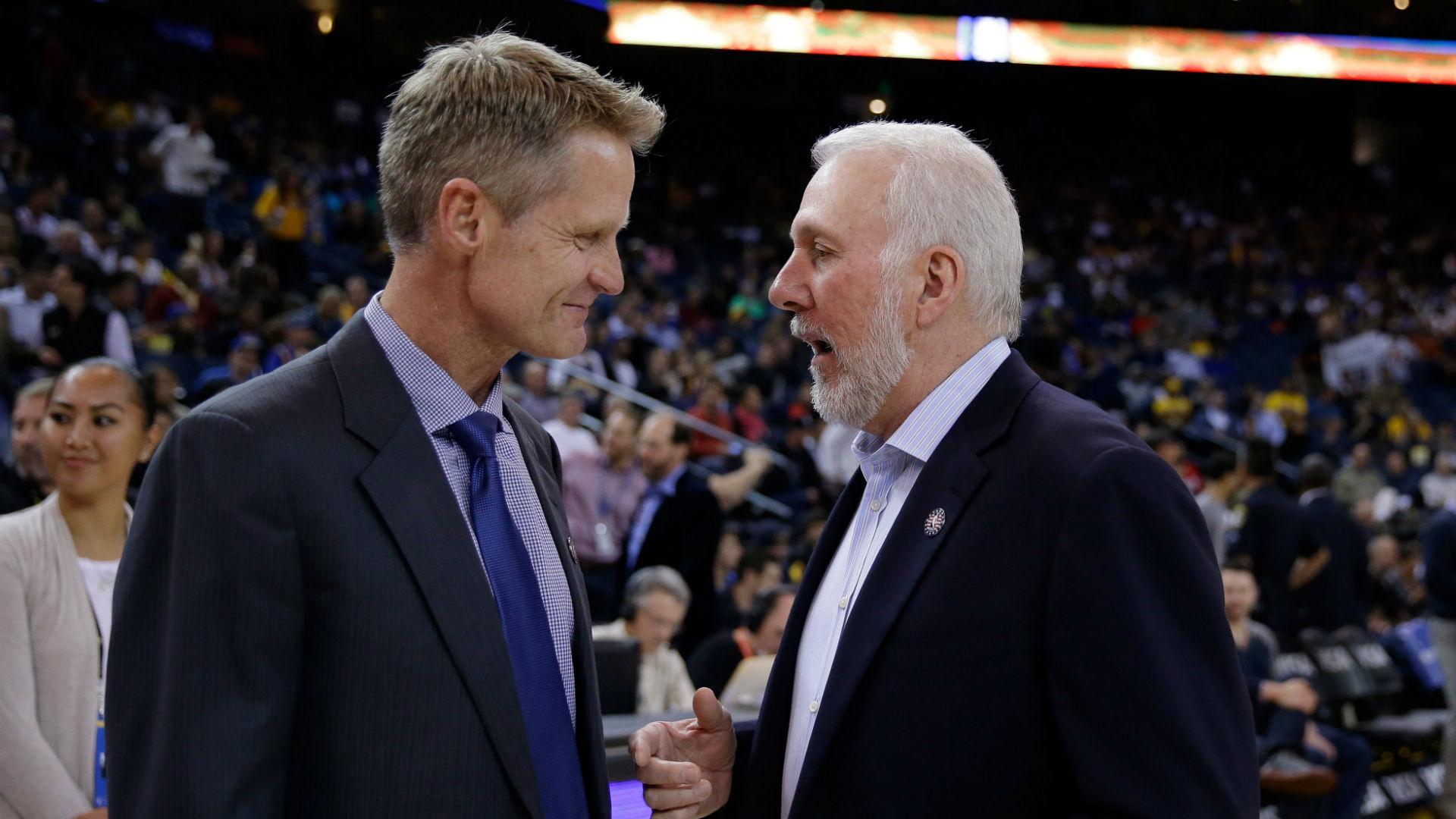 Gregg Popovich, Steve Kerr react to Knicks firing coach David Fizdale
