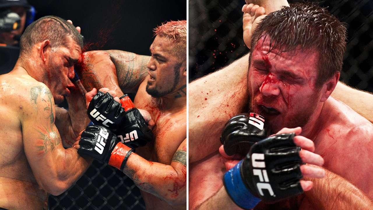 Shocking UFC photos