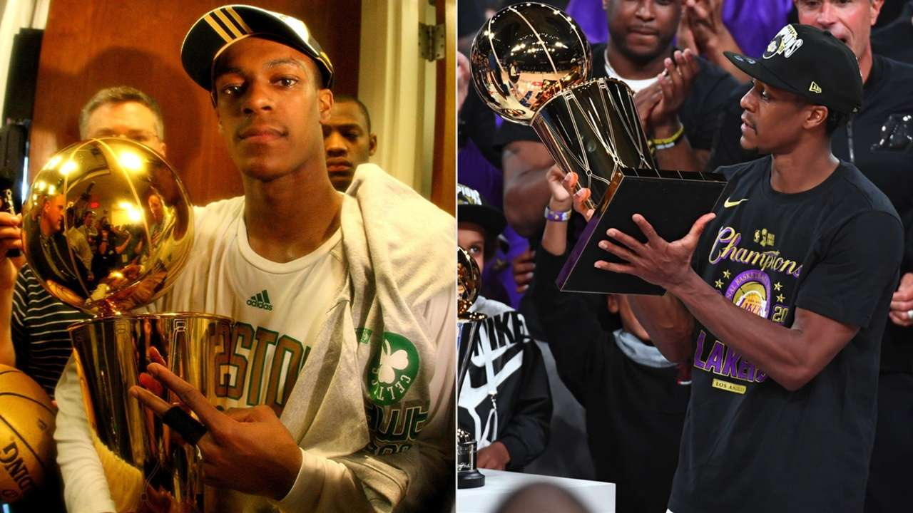 Rajon Rondo Boston Celtics Los Angels Lakers