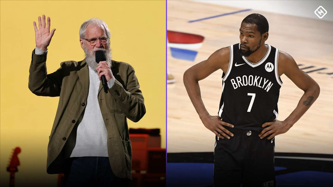 David Letterman and Kevin Durant