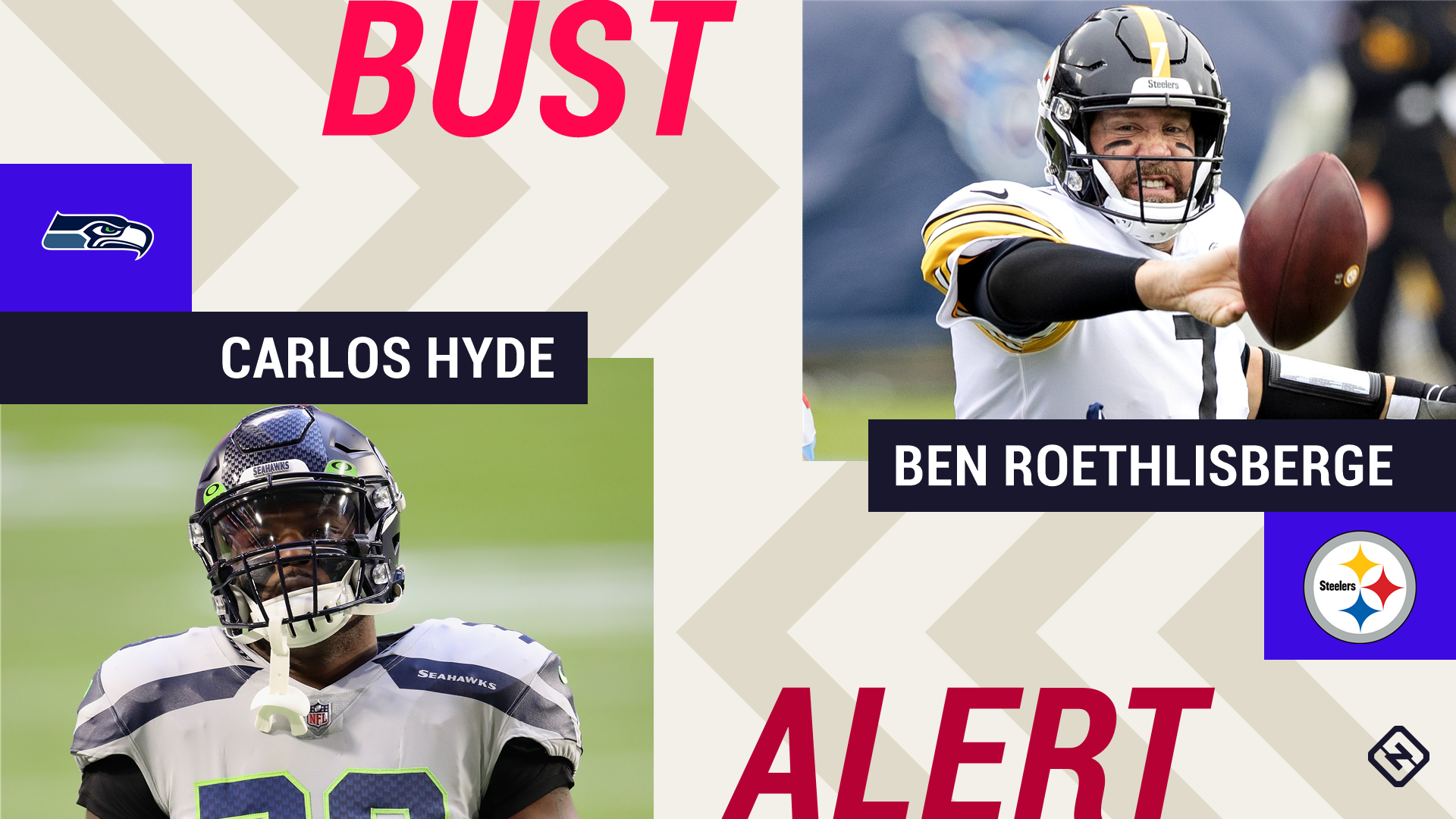 Week 8 Fantasy Busts: Carlos Hyde, Ben Roethlisberger among 'risky starts' in tough matchups