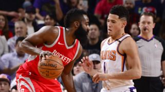 James Harden Houston Rockets Devin Booker Phoenix Suns