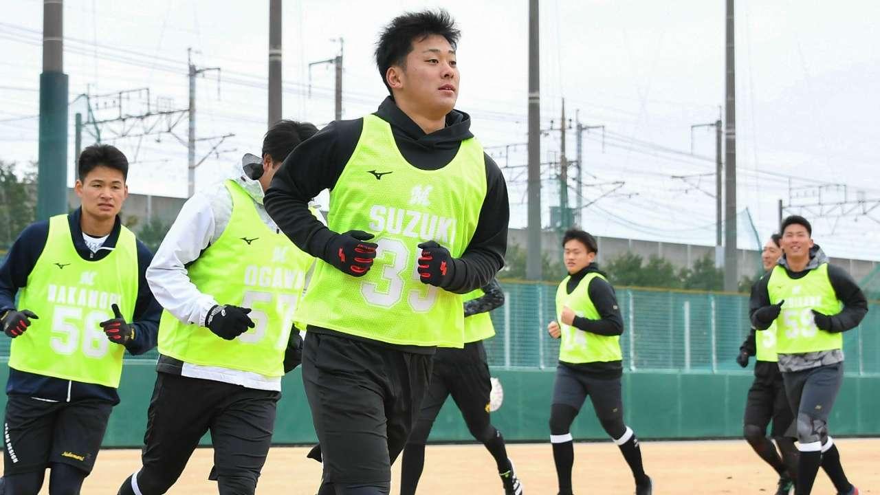 ロッテ-鈴木昭汰ら新人