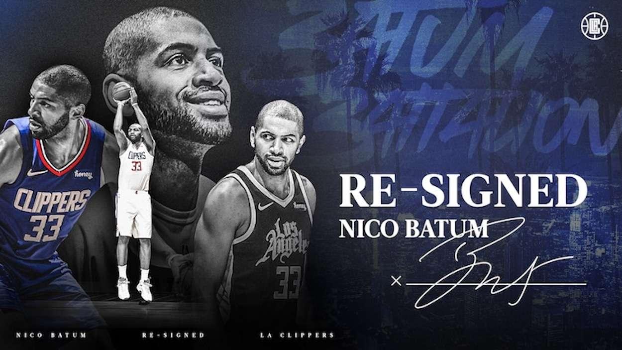Nicolas Batum LA Clippers