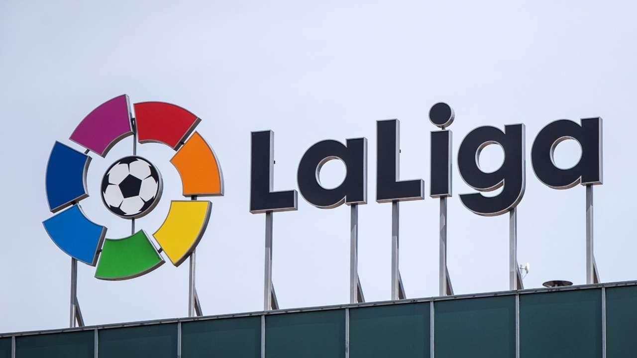 La Liga logo - headquarters - 2020