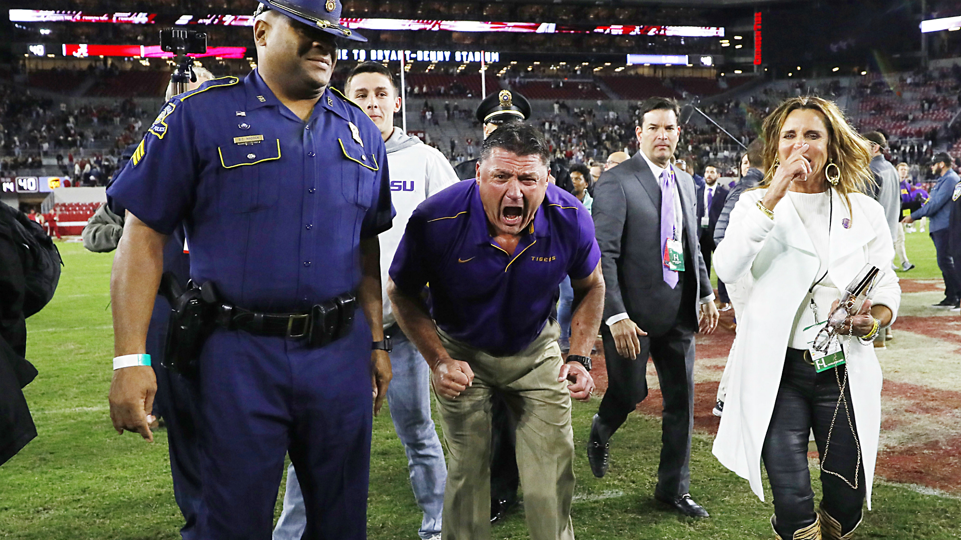 Ed Orgeron's voice is quintessentially Cajun, a product of his deep Louisiana roots