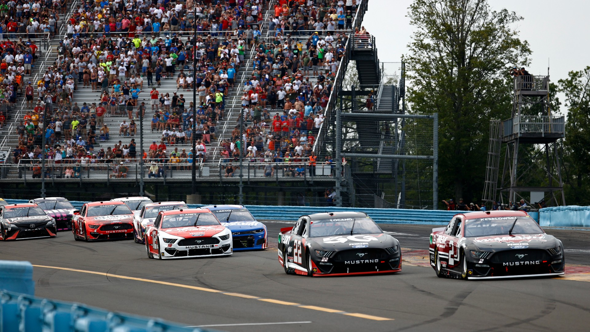 Who won the NASCAR race yesterday?  Full results from Sunday's race at Watkins Glen