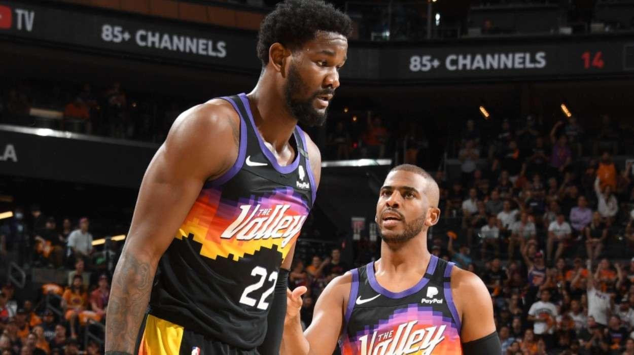 Chris Paul Phoenix Suns Deandre Ayton