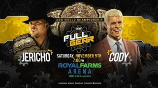 AEW Full Gear - Jericho vs. Cody