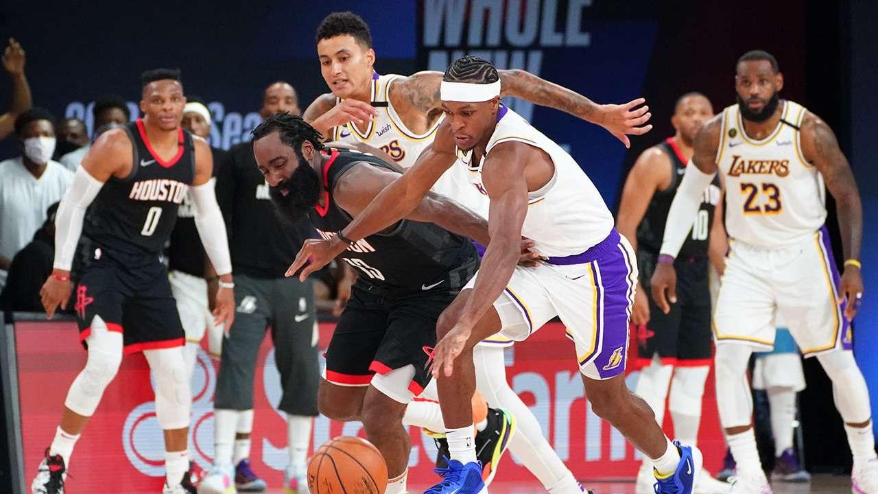 Rockets, Lakers