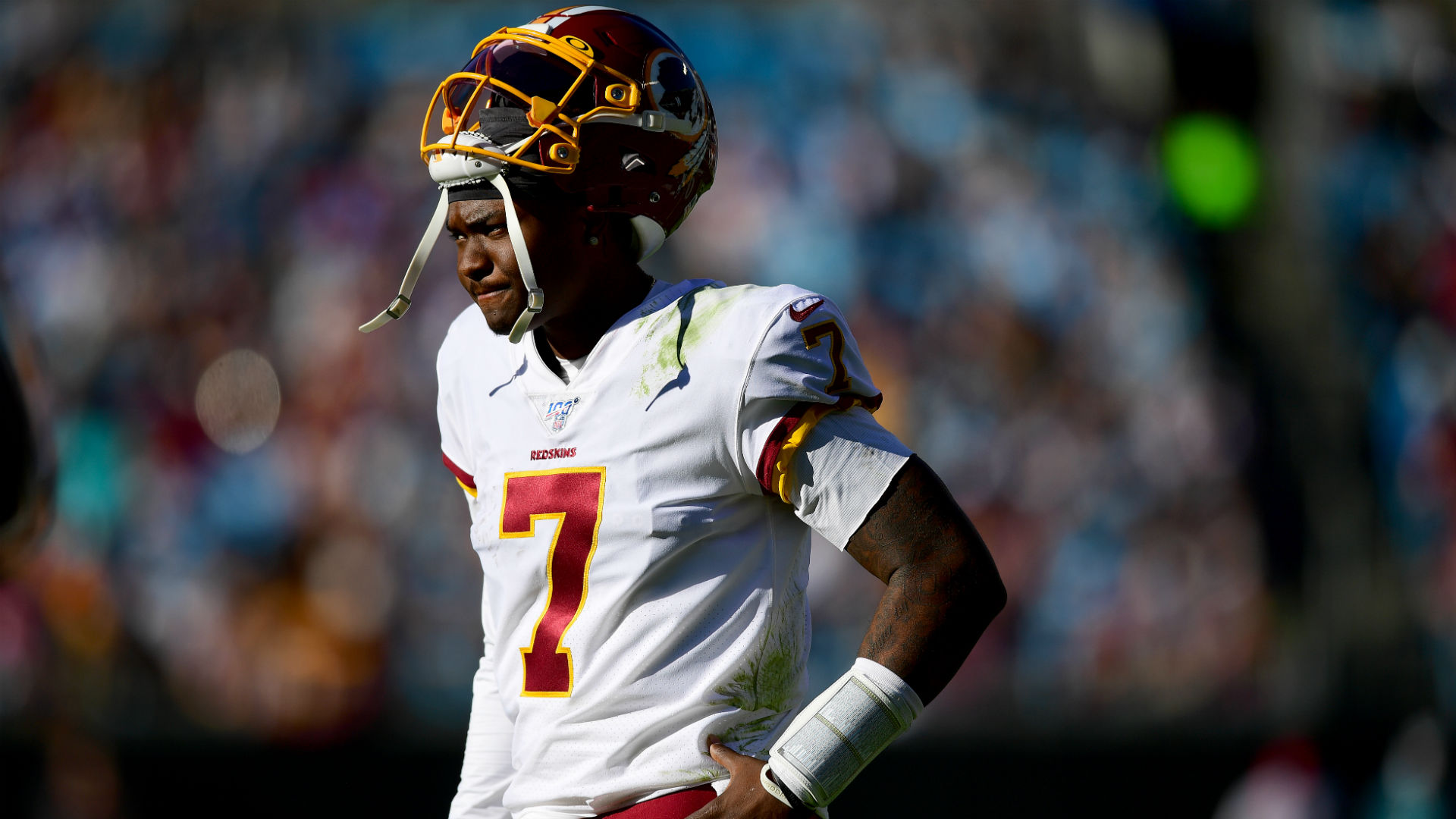 What's next for Dwayne Haskins as Washington benches QB ...