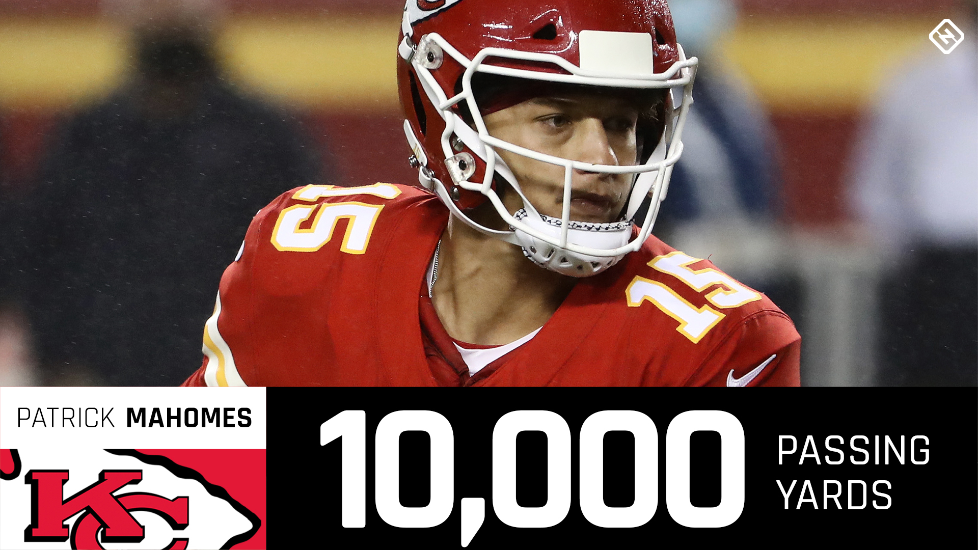 Patrick Mahomes fastest to 10,000 passing yards in NFL history 1