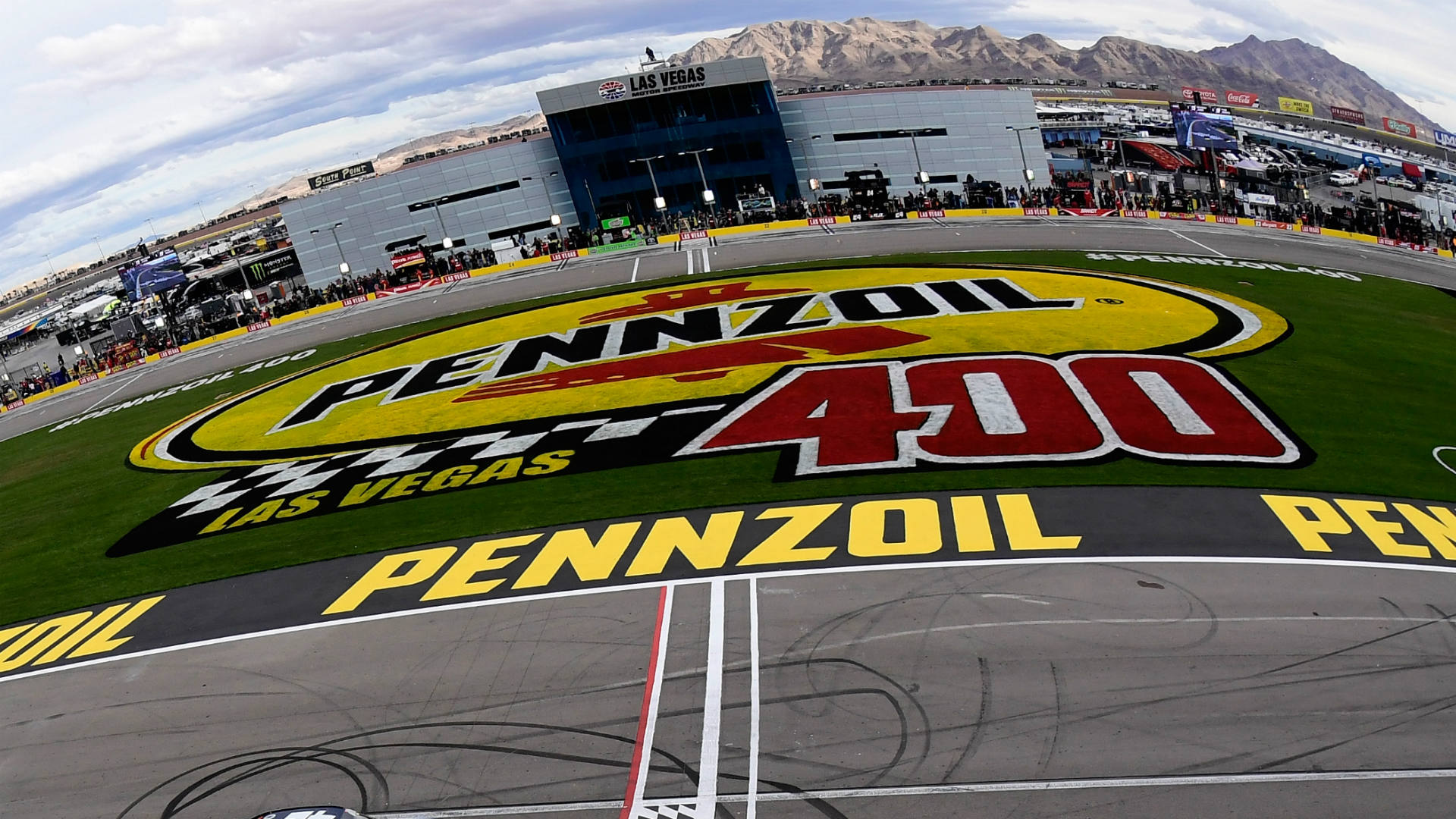 NASCAR lineup at Las Vegas: Starting order, pole for Sunday's race without qualifying